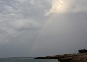 Rainbow over the Adriatic copy