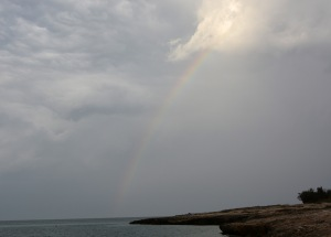 Rainbow over the Adriatic copy